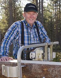Logosols grundare Bengt-Olov Byström var en av föreläsarna när Island hade temadag om framtidens skogsbruk.