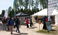 SkogsElmia 2011 hade över 33 000 besökare under de tre mässdagarna. Logosols monter var välbesökt.