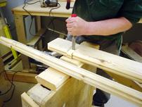 Metoden med planktimmerknutar är enkel och du får snabbt resultat.