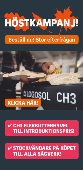 Höstkampanj hos Logosol